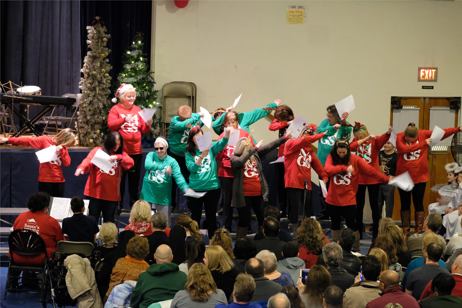 NAGS Faculty Christmas Concert Performance