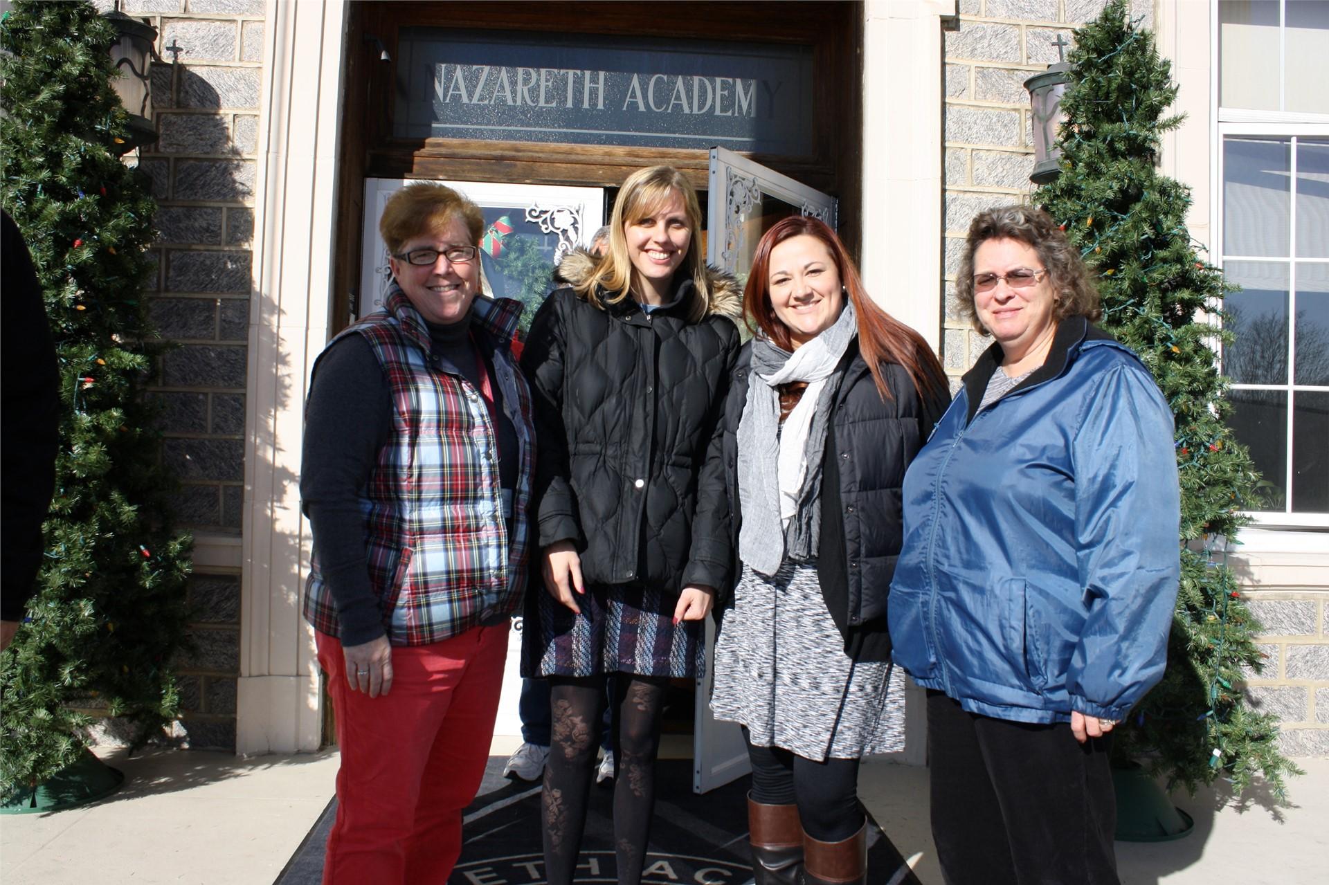 NAGS Teachers at First Friday Mass