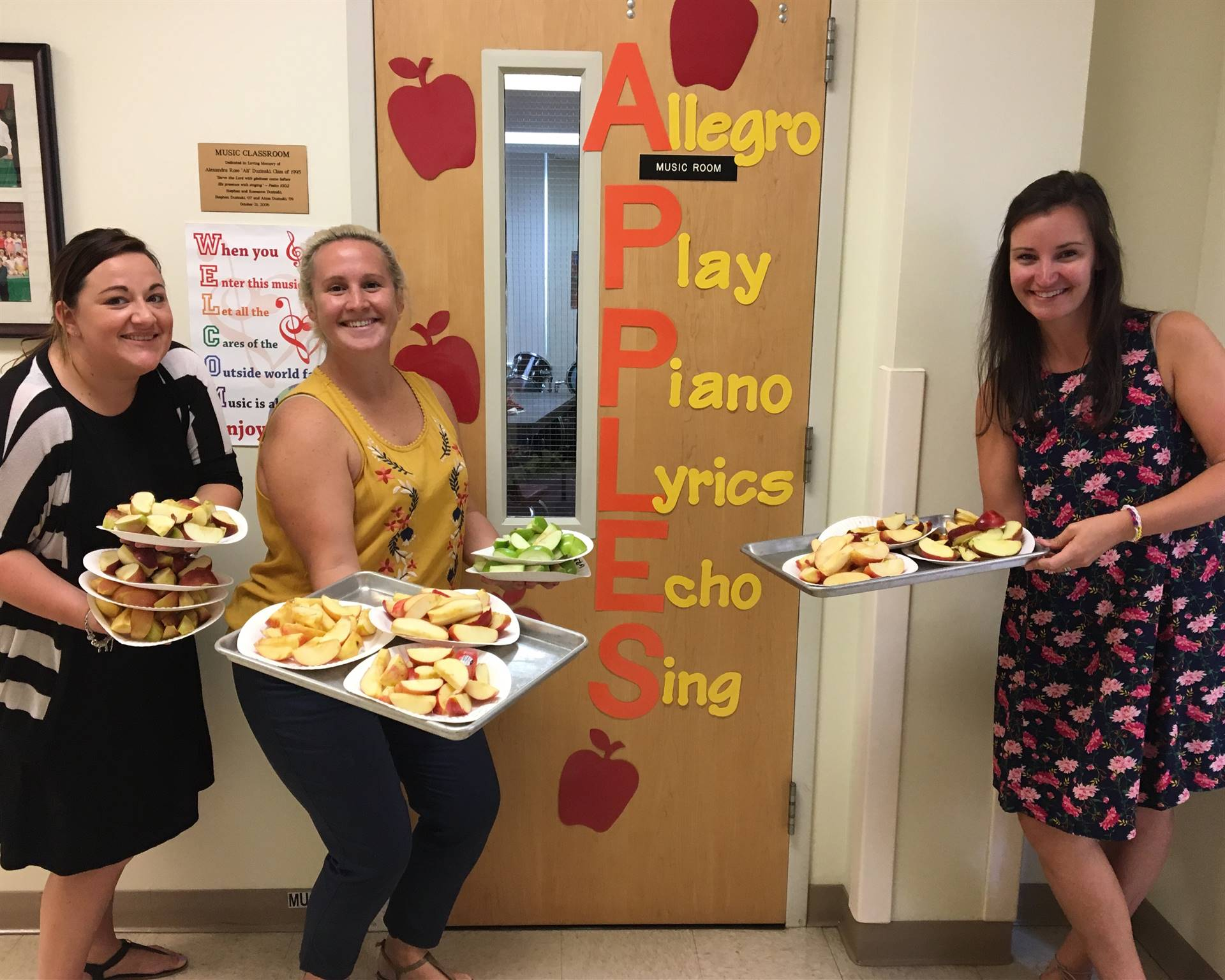 Teachers and STEM Apples project