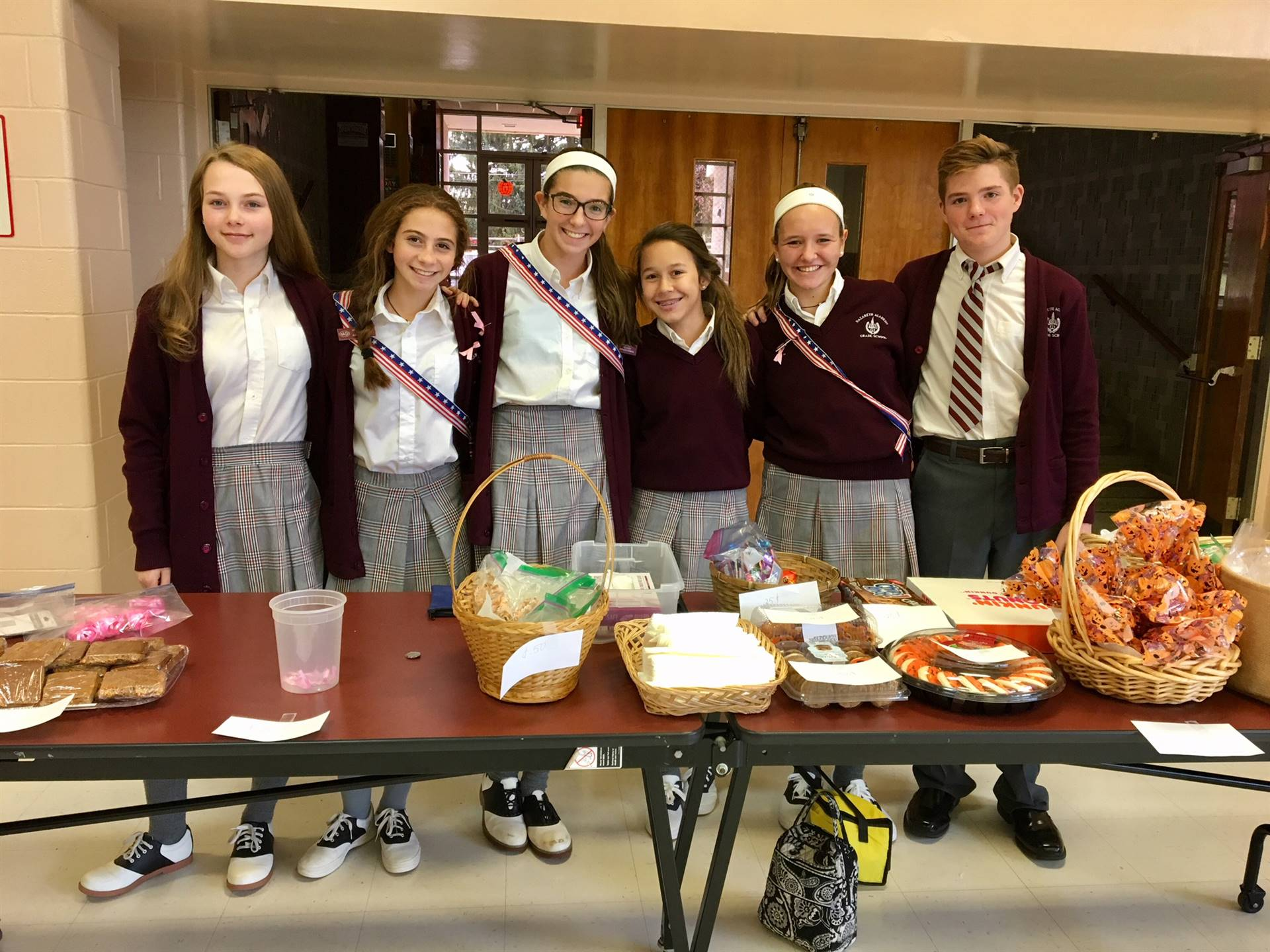 Bake sale for breast cancer research