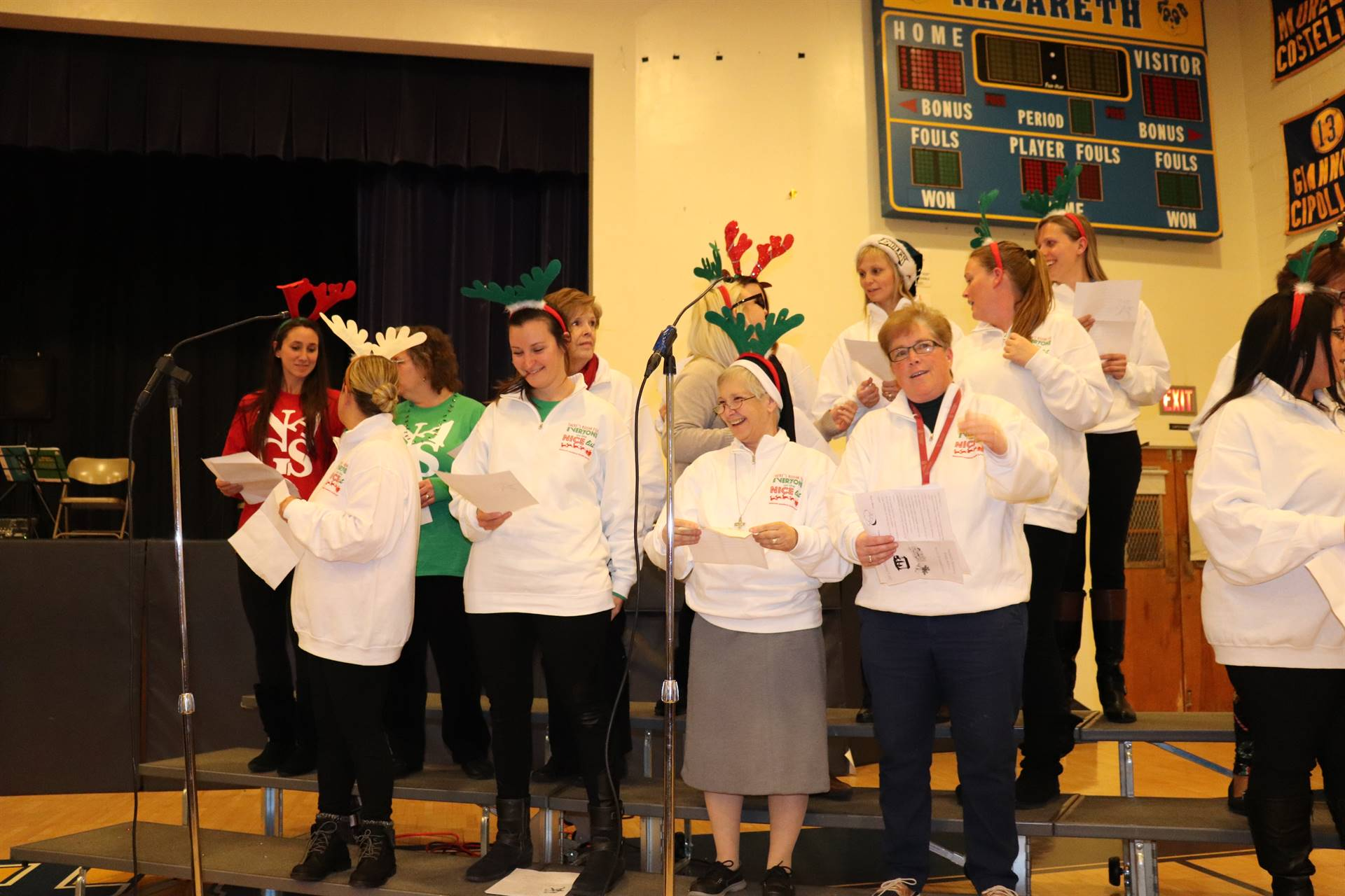 Faculty at Christmas Concert