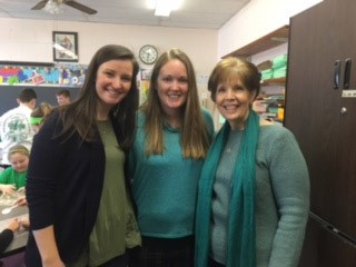 Mrs. Merryman, Mrs. Dunne, Mrs. Ayes