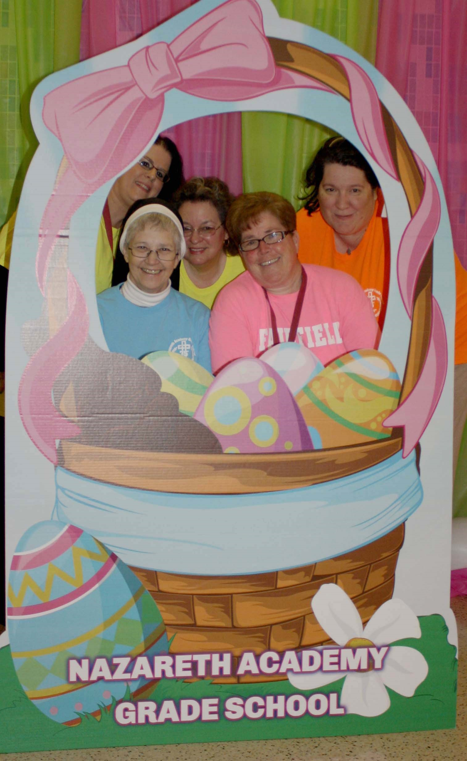 NAGS faculty at Easter Egg Hunt