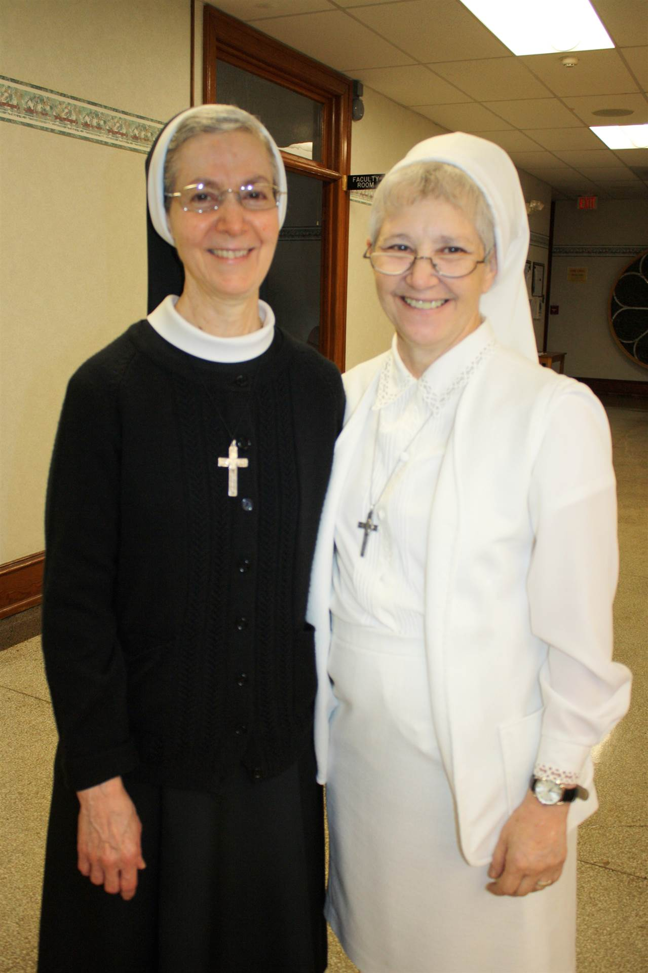 Sister Yvette and Sister Linda Joseph
