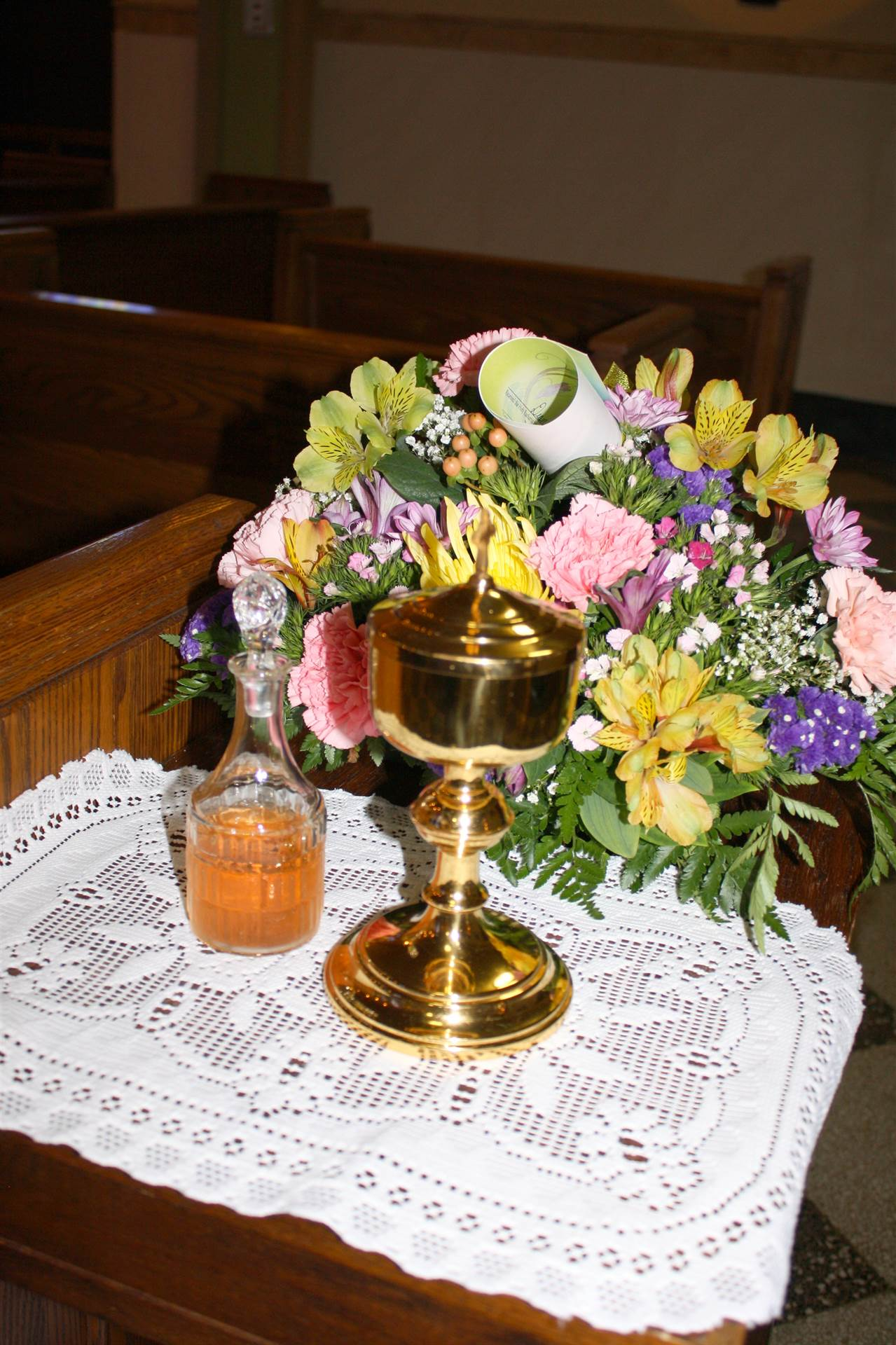 First Holy Communion chalice