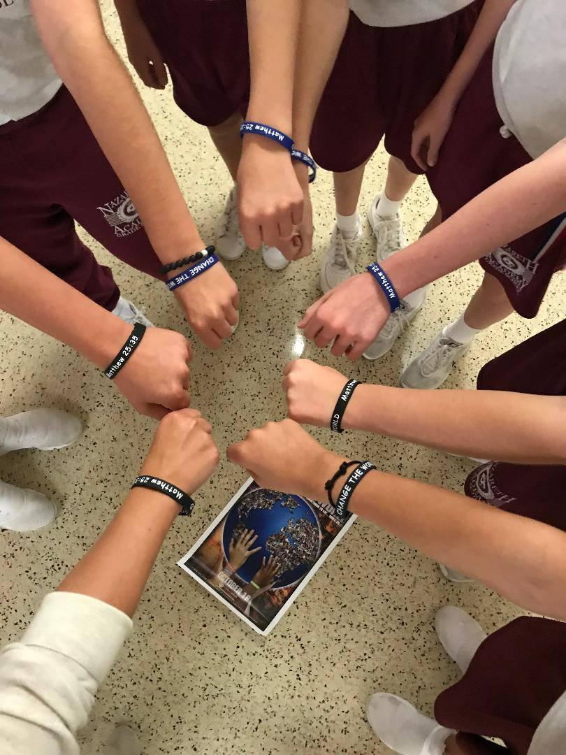 World Food Day bracelet fundraiser