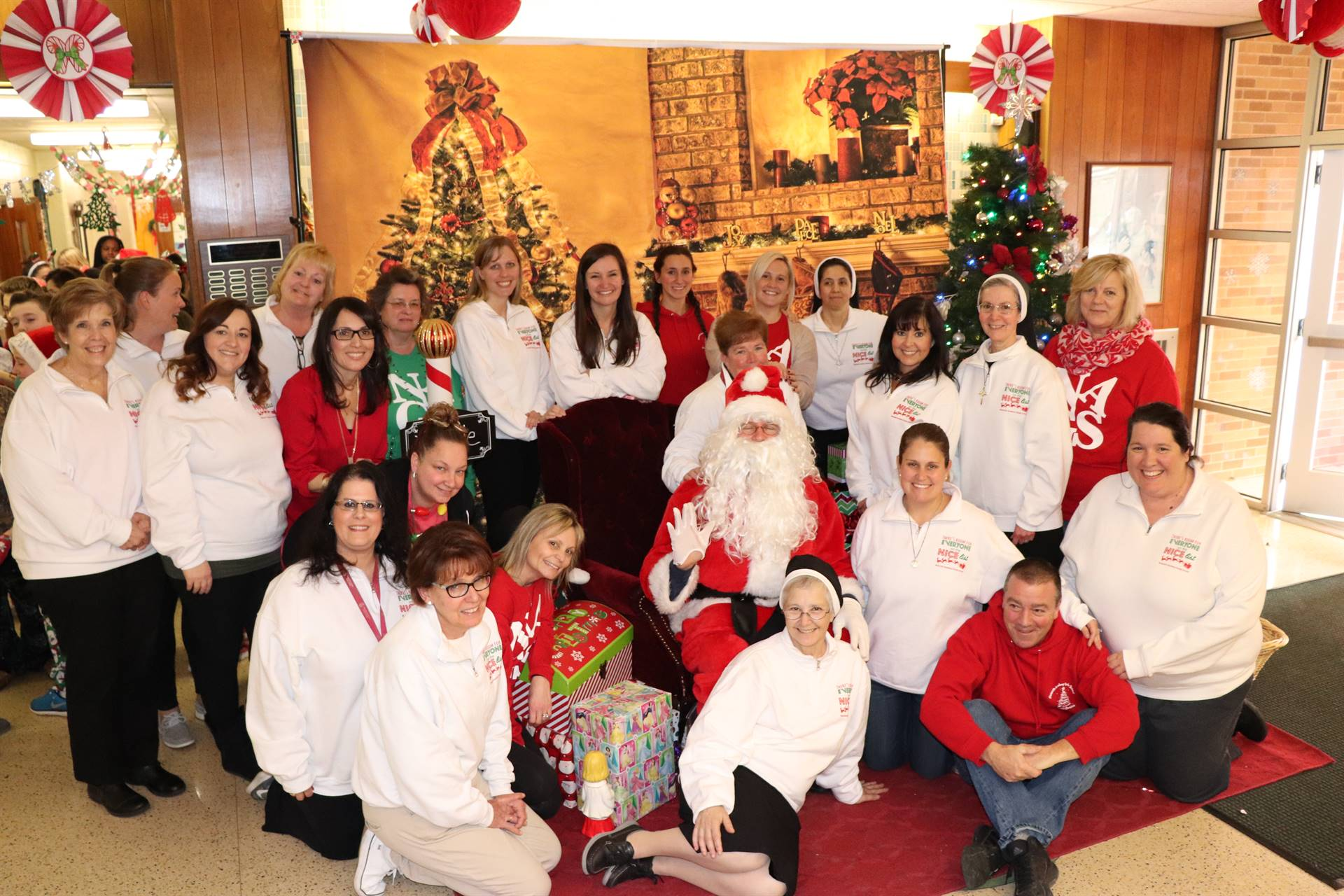 Faculty and Staff at Christmas at NAGS