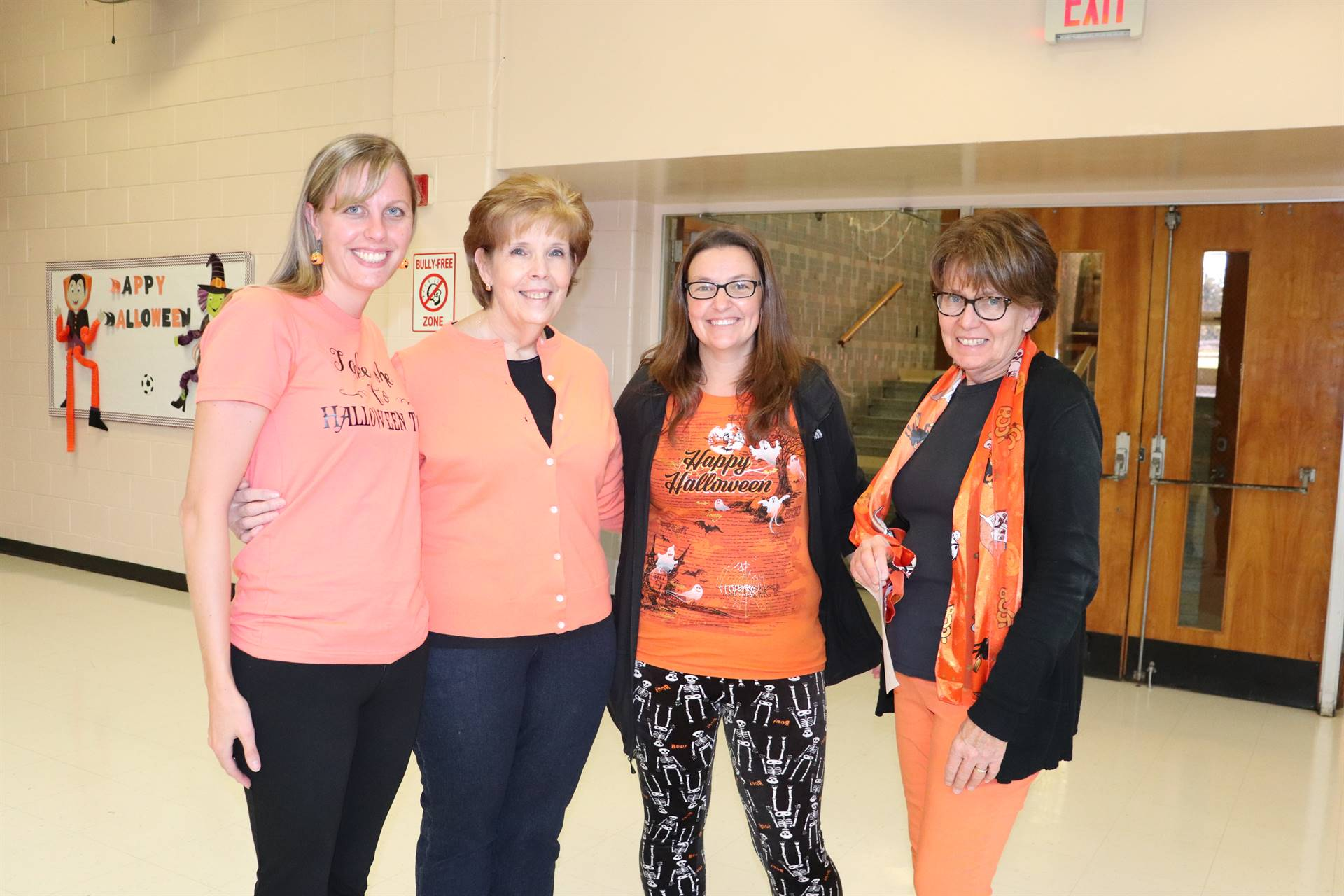 Halloween Bingo with faculty
