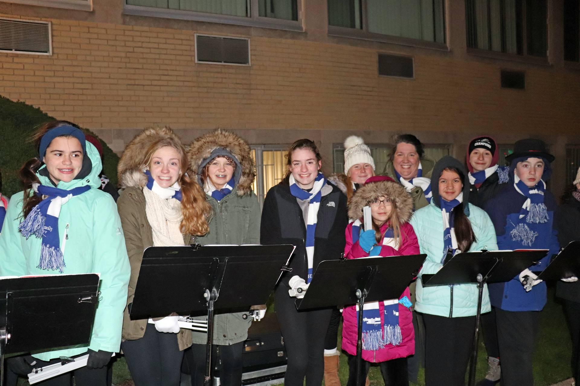Music performance at Holy Family University