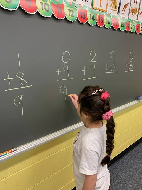 1st Grade Math Lesson