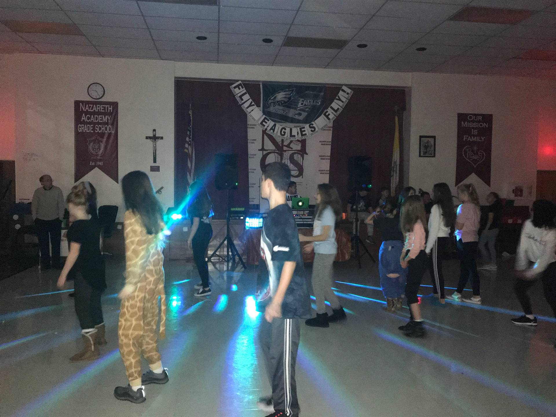 Pajama Jam Middle School Dance