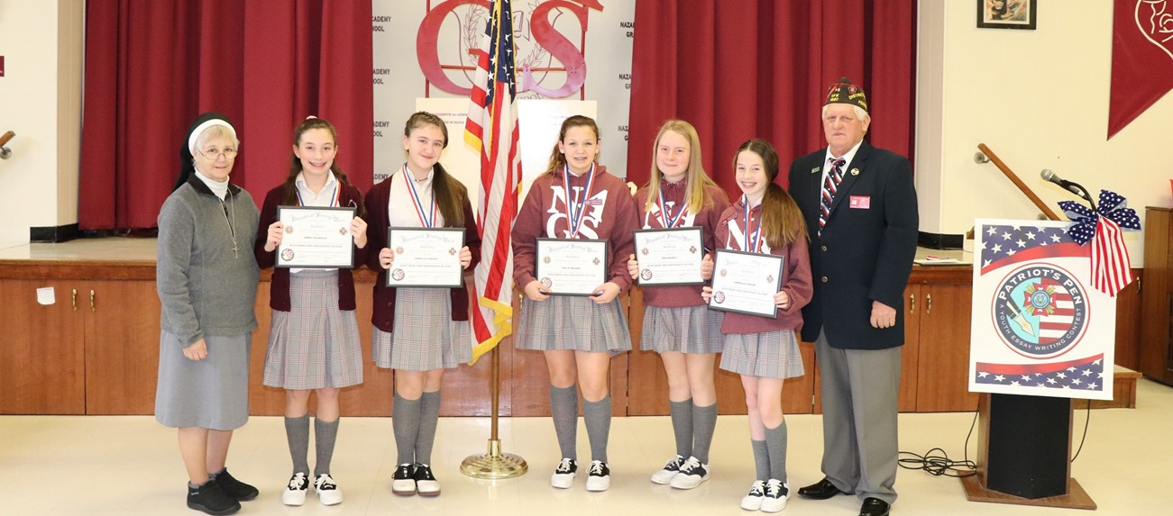 Patriots Pen Essay Contest Winners