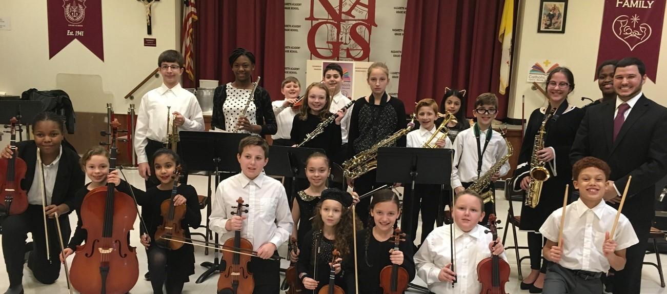 School band presentation