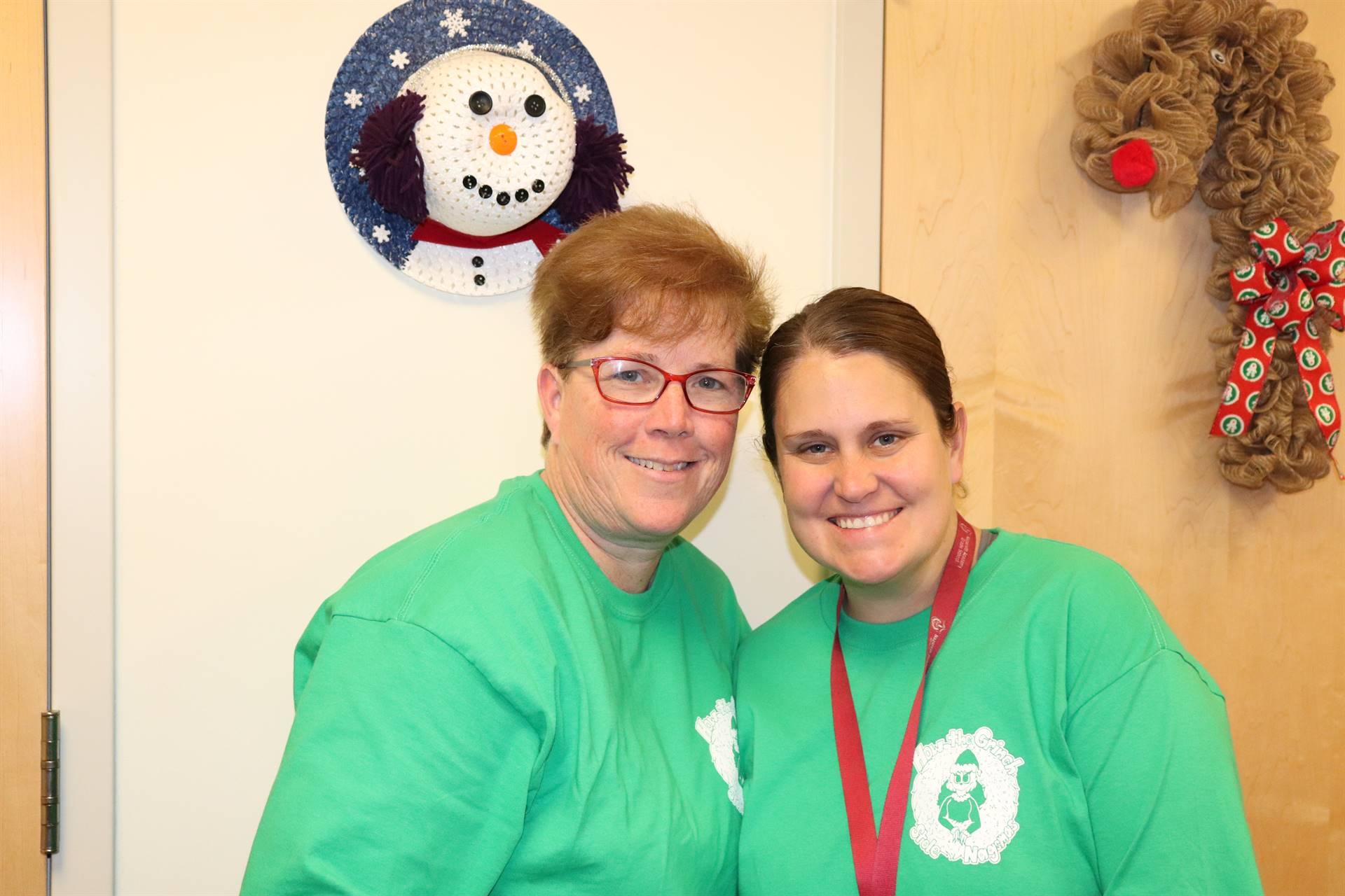 Teachers at Christmas