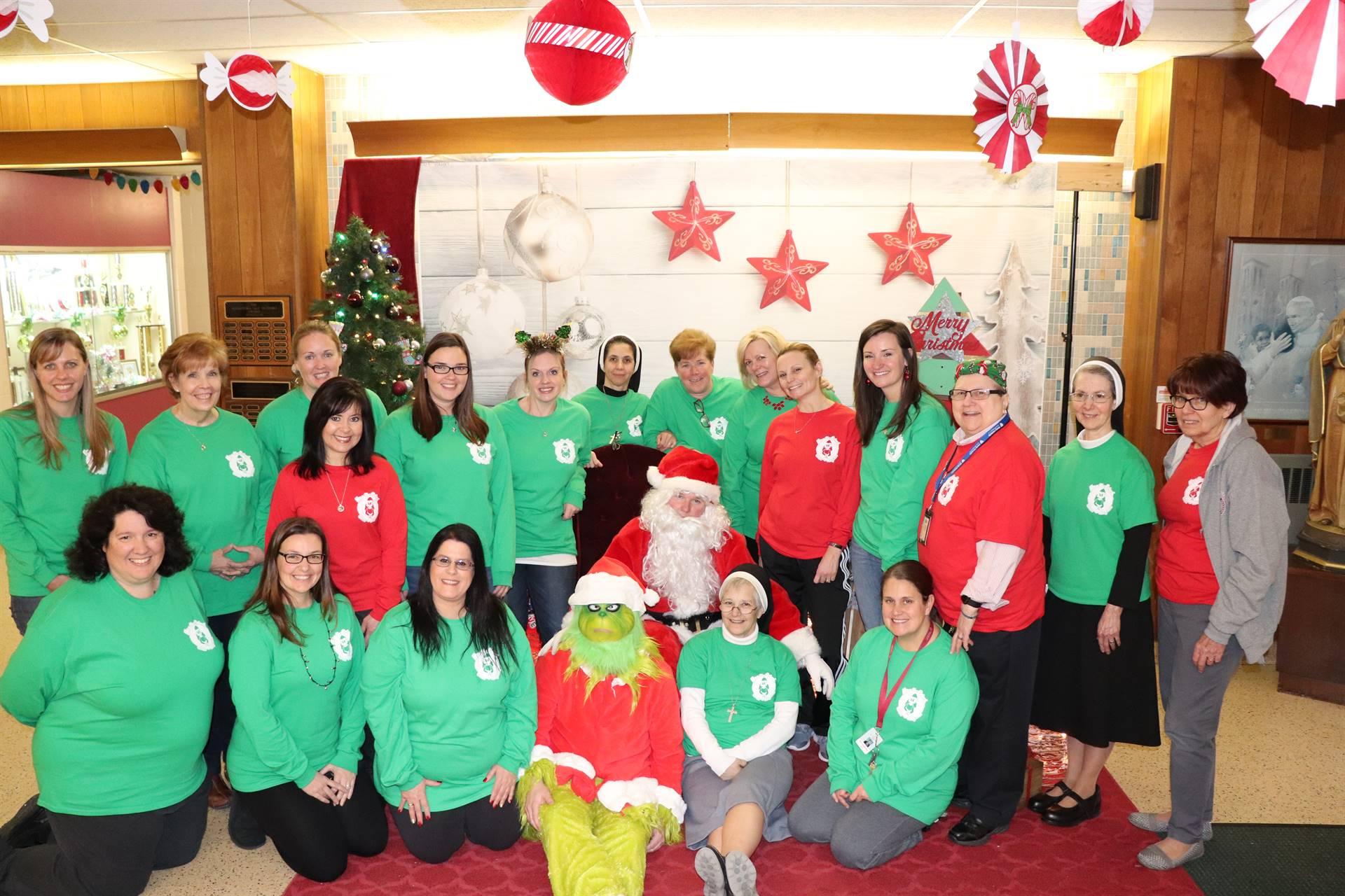 Christmas Faculty Photo