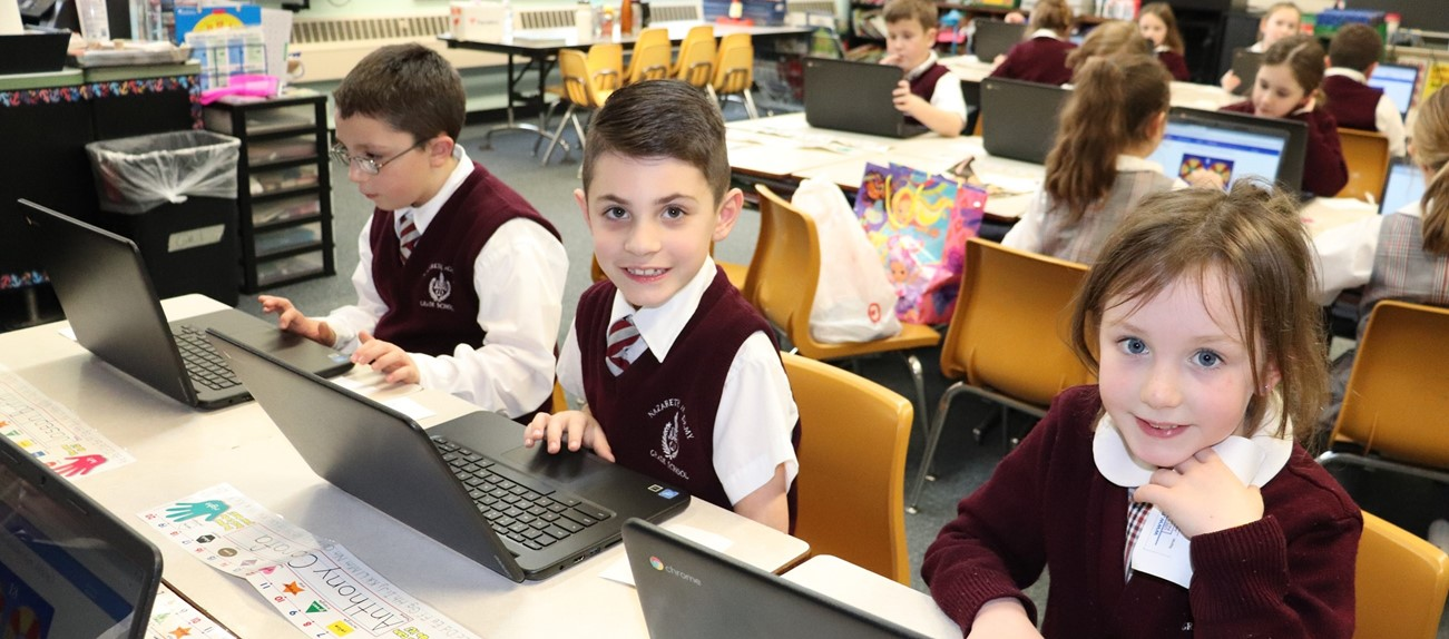 New Computers for grade 1