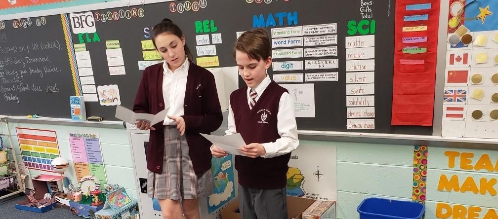 Spanish class presentation