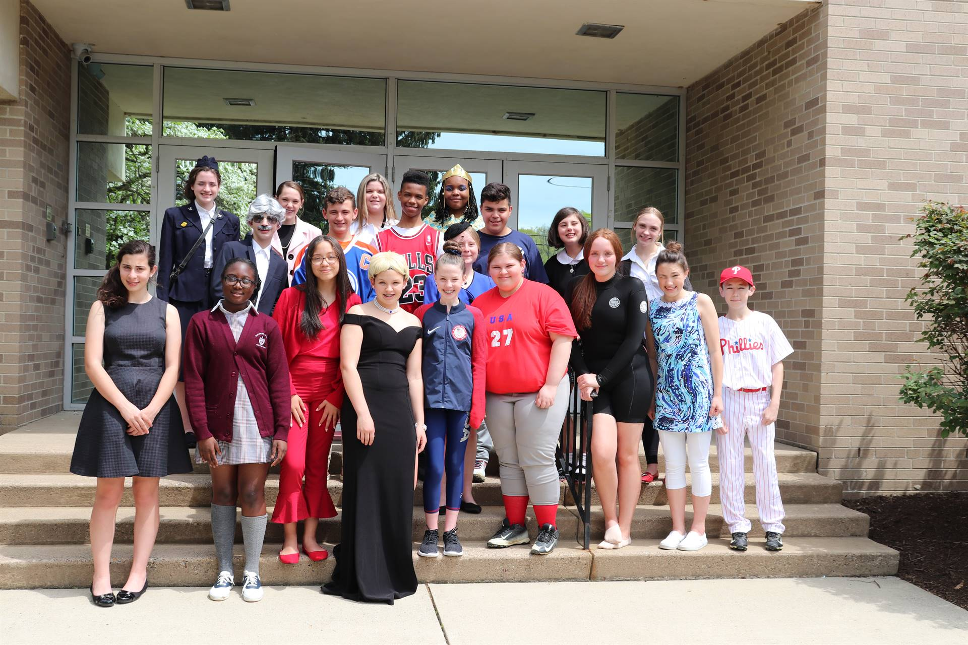 8th grade Wax Museum projects