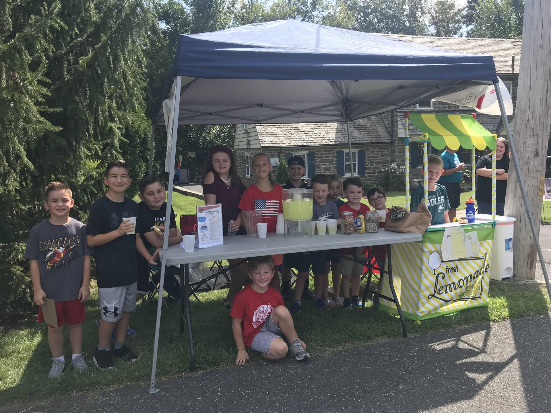 Leukemia and Lymphoma Society Lemonade Stand Fundraiser